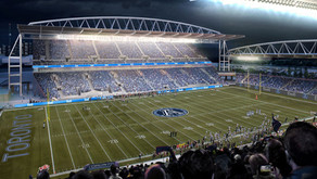 """Ready, Set, Hut"" - Toronto Argonauts Games with the Pinball Clemons Foundation."