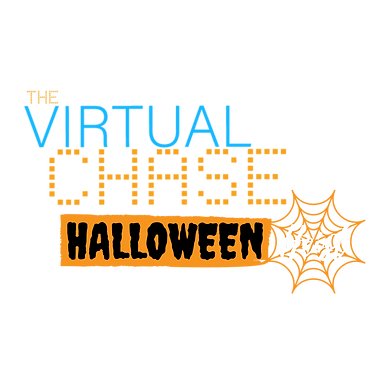 Halloween Heist Logo (White Dark Backgro