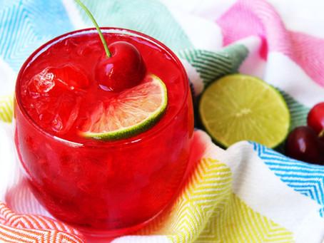 Sour-Cherry Gin Smash