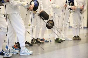 Fencing at School