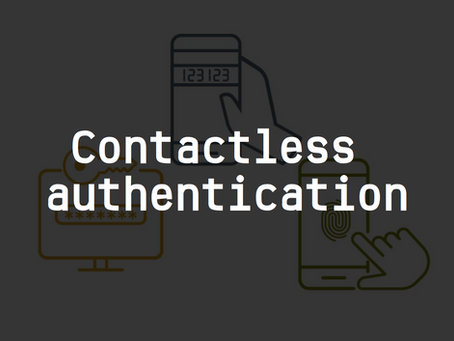 Contactless Authentication