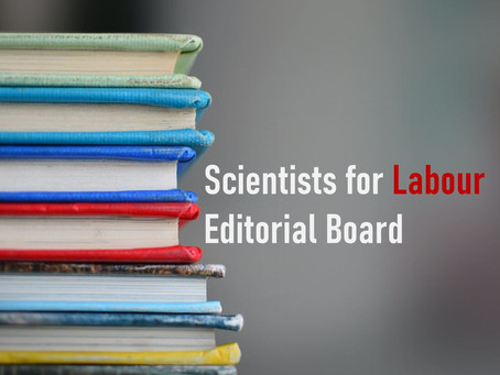 Scientists for Labour's new editorial board – accepting applications