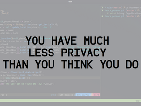 You have much less privacy than you think you do