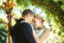 Couple le jour de mariage