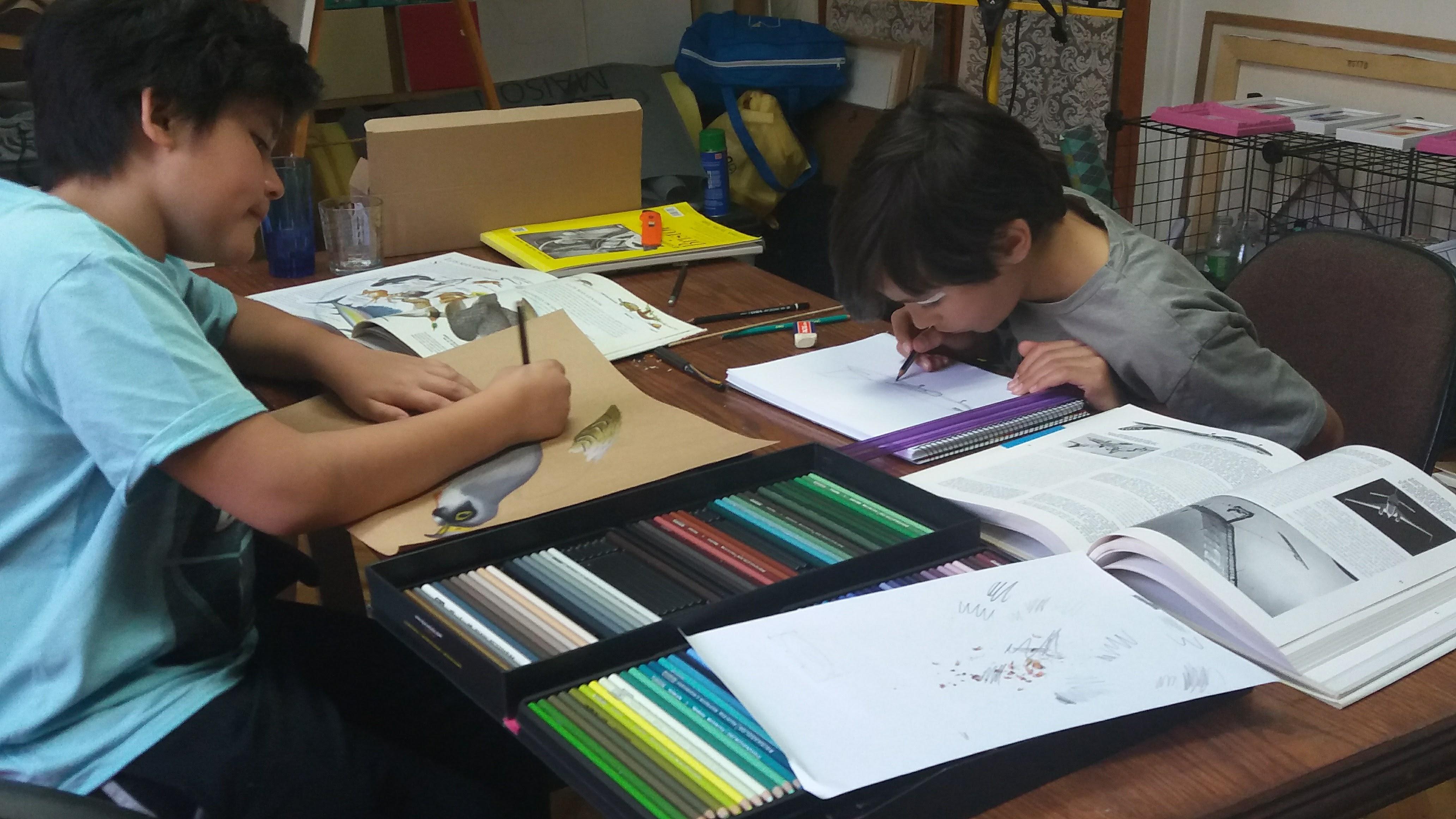 clases de pintura para niños