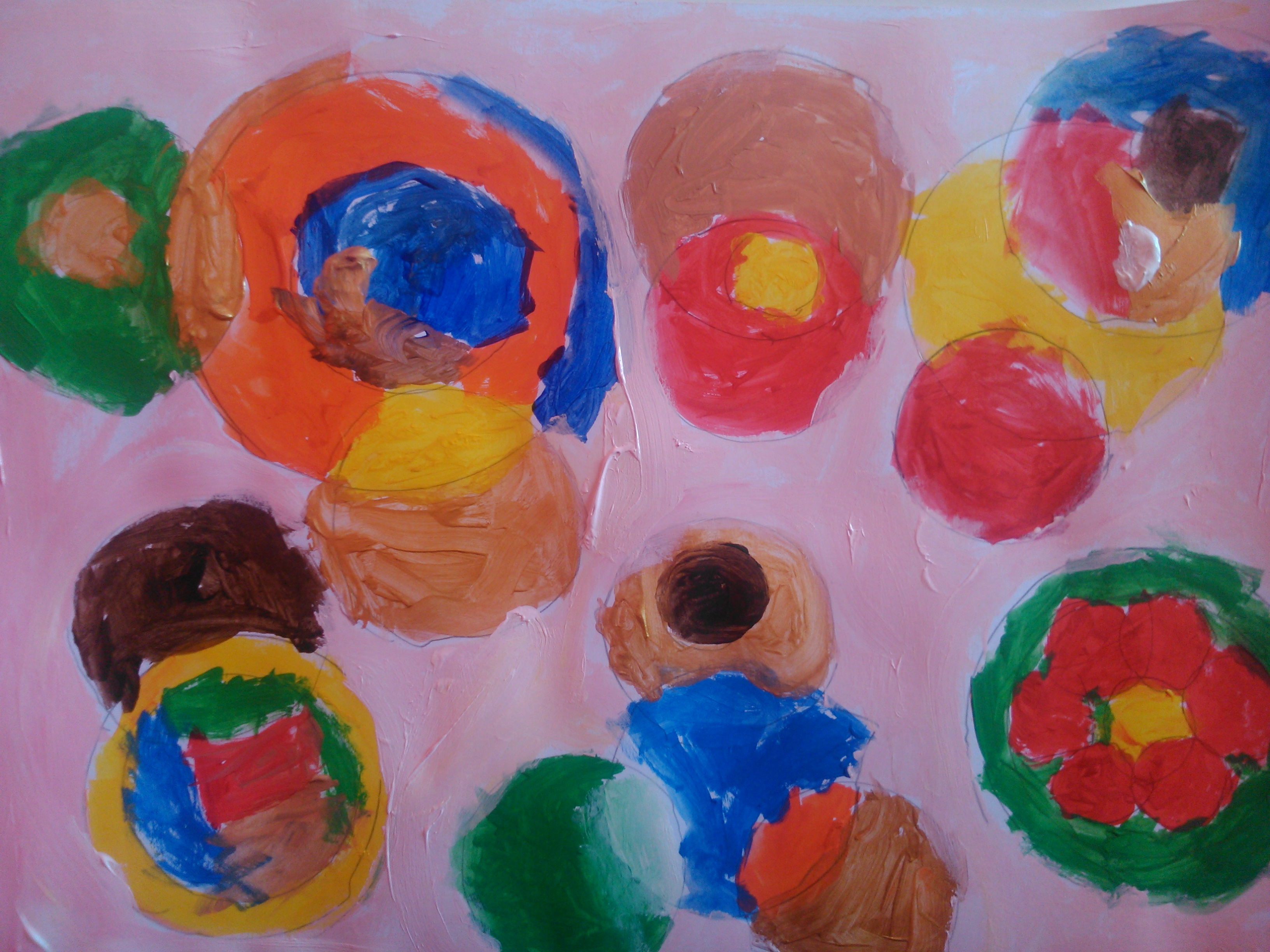 pintura niños