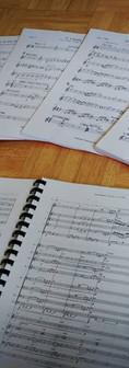 Music Preparation - Scores & Parts