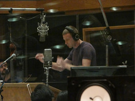 recording session at Capitol Records