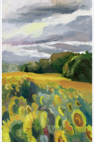 Field and Sky- Original Oil Painting