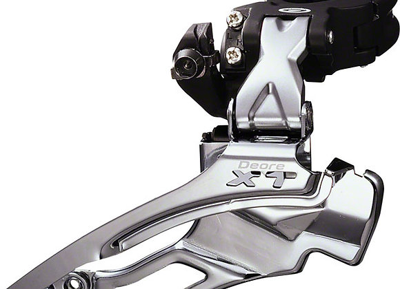 Shimano XT M771 Traditional Dual Pull Multi-Clamp Front Derailleur