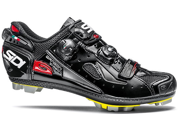 Sidi Dragon 4 SRS Carbon Composite MTB Shoe - black/black