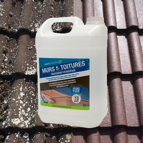 SCHUTZBEHANDLUNG für Wände und Dächer