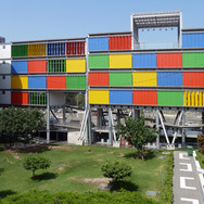 Classroom Building Inca Roca Ricardo Palma University