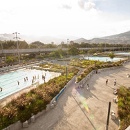 Aquatic Center for the XI South American Games