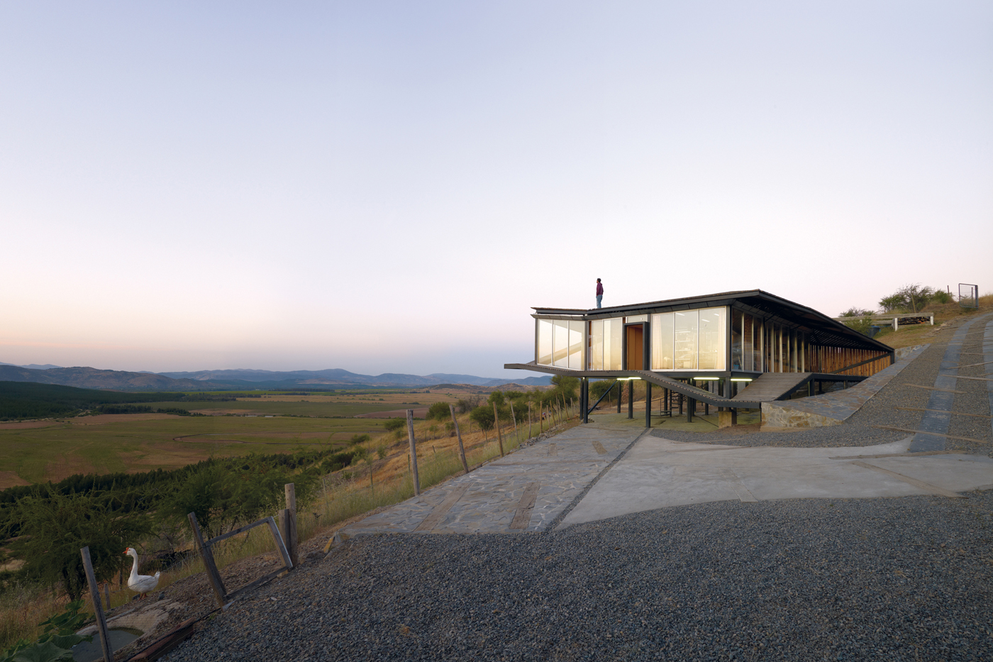 Kiltro House by Juan Pablo Corvalan in Talca, Pencahue, Chile