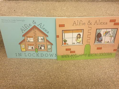 Alfie and Alexa In Lockdown & When Mummy Was In Lockdown Bundle