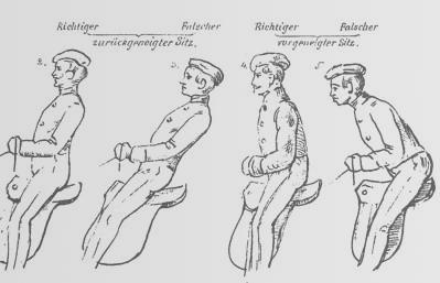 Biomechanisch korrektes Reiten
