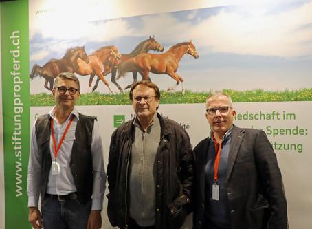 Fredy Knie jun. am Pro-Pferd-Stand