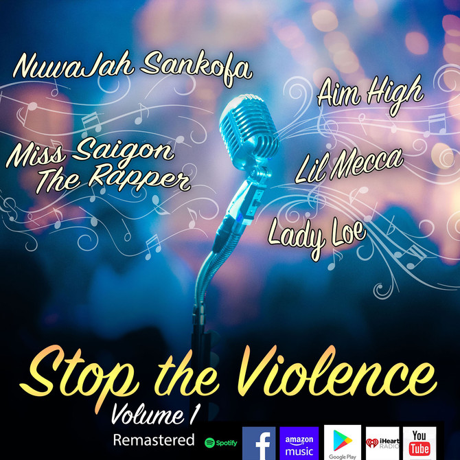 """Old School 76 """"Stop the Violence Volume 1"""" Remastered"""