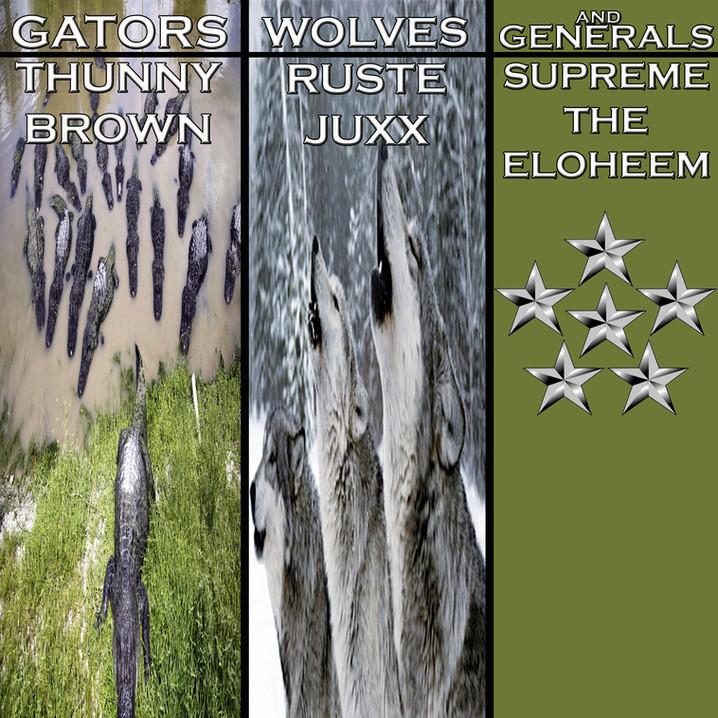 "Thunny Brown Ft. Ruste Juxx & Supreme The Eloheem ""Gators, Wolves, & Generals (Video)"