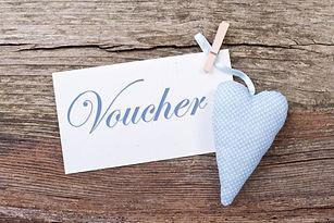 heart, clothespins and  voucher/voucher/