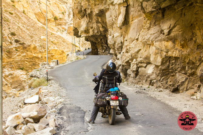 Why you should start and sleep early while riding in the Mountains..