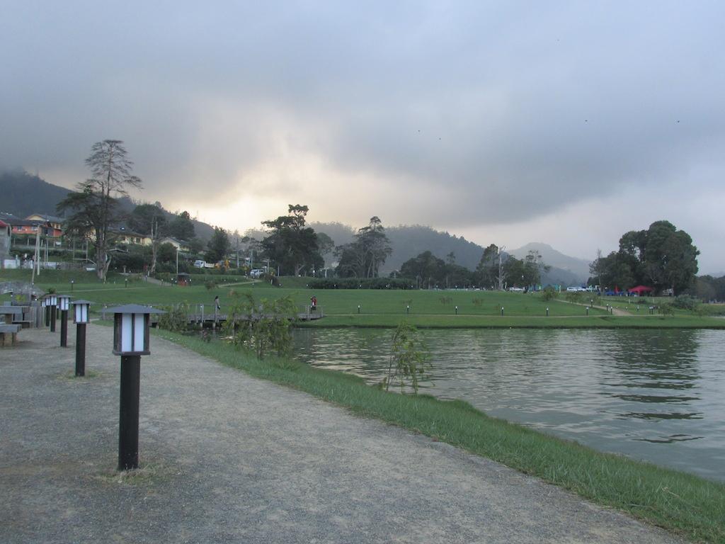 Lake Gregory at Nuwara Eliya