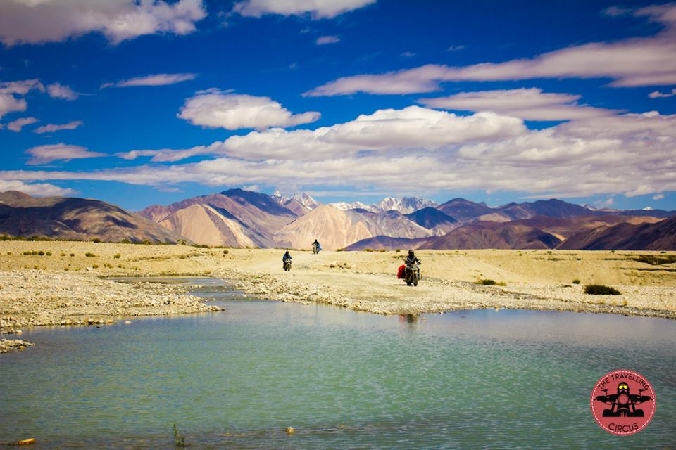 Water crossing along Pangong (2.0)