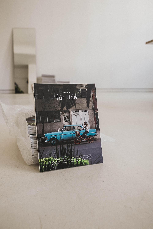 Magazin Cover der neuen Ausgabe des far ride Magazins