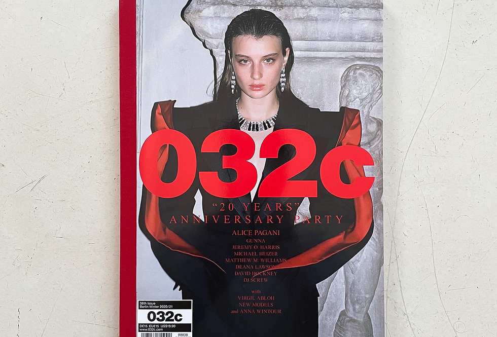 032c No. 38 | 20 years