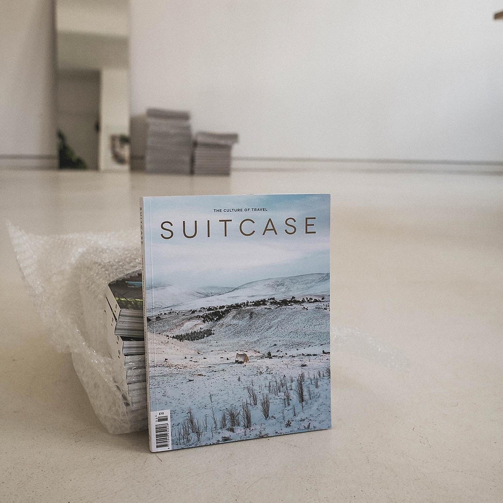 Cover des Suitcase-Magazins Issue 32