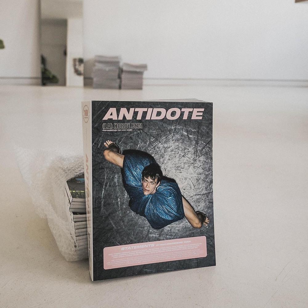 Cover der neuen Ausgabe des Antidote Magazin