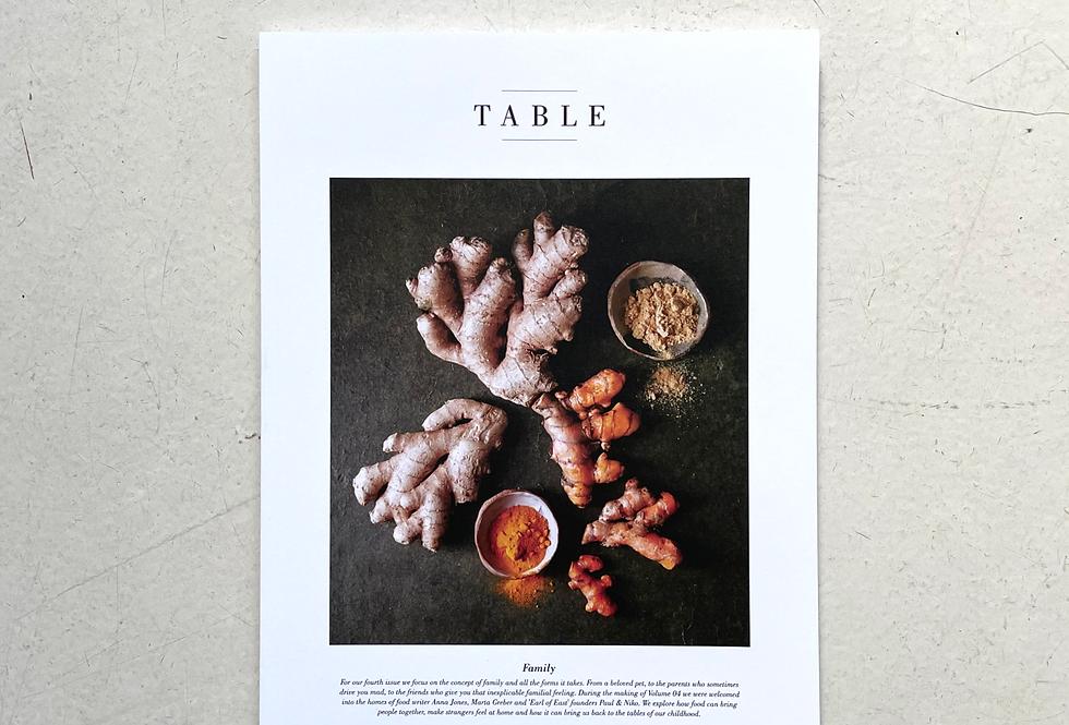 TABLE No. 4 Family