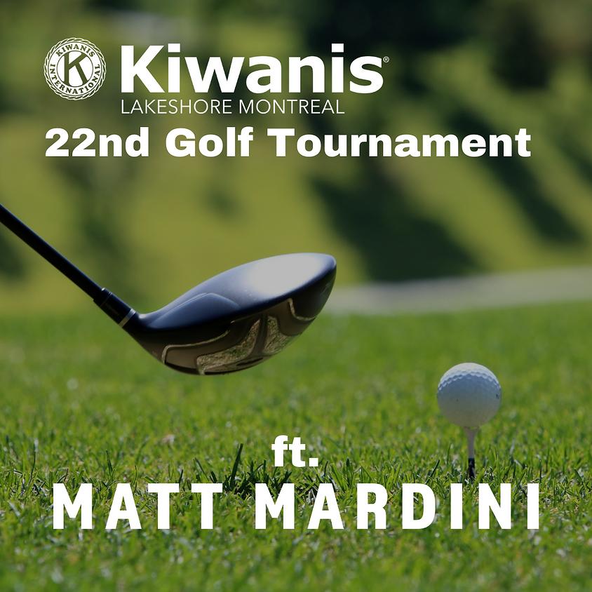 22nd Kiwanis Golf Tournament