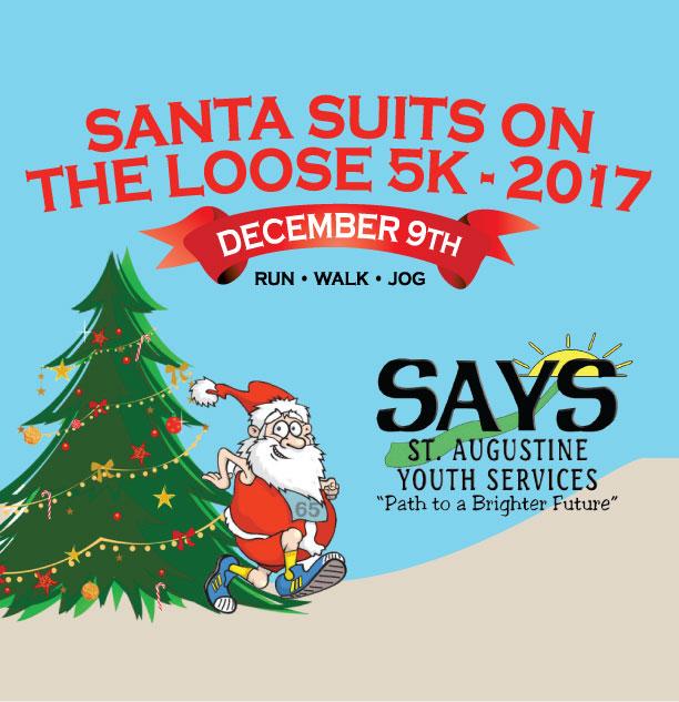 SantaSuitsontheLoose5K2017