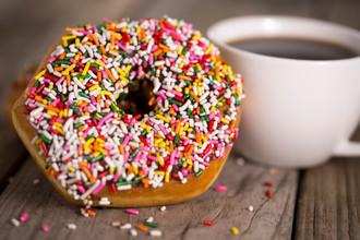Sprinkled Donut