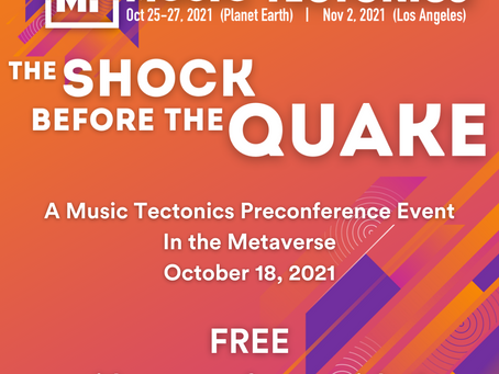First Music Tech Competition in the Metaverse at Music Tectonics' Preconference