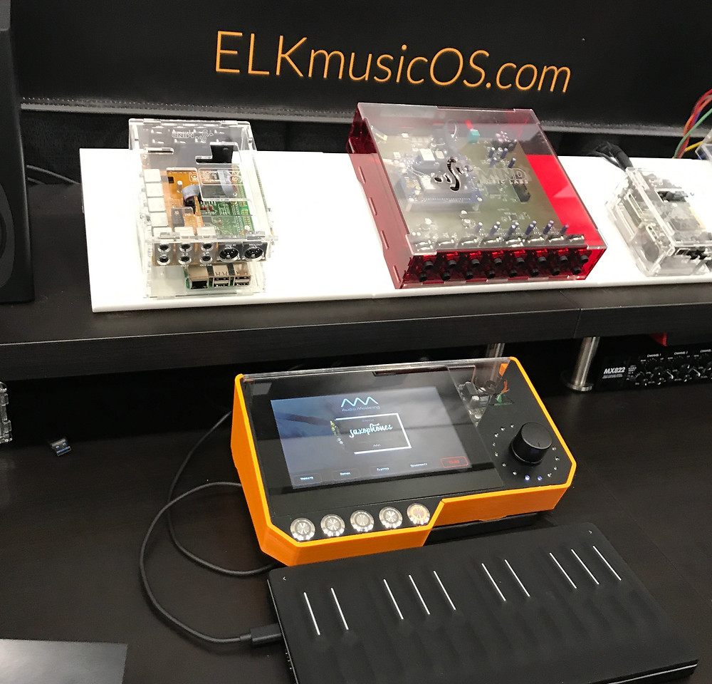 Elk Music OS at NAMM 2019