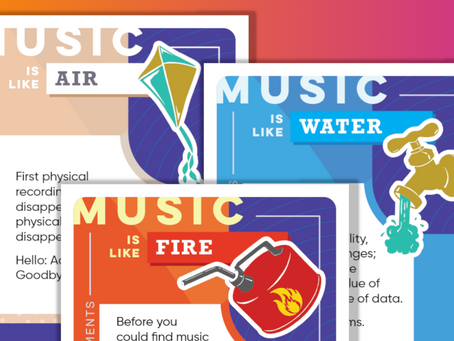 Music Tectonics Trading Cards Capture Seismic Shifts in the Music Industry
