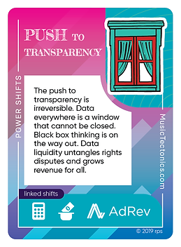 Push to Transparency
