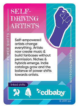 Self-Driving Artists