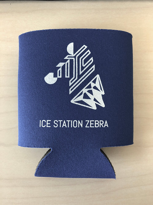 Ice Station Zebra Can Cooler
