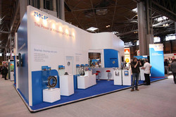 Exhibition stand / booth graphics