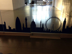 London vinyls to glass