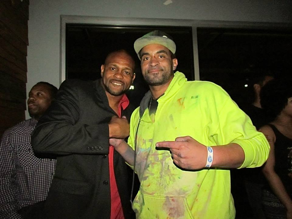 Roy Jones Jr Release Party
