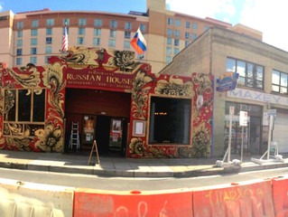 Russian House Facade: Historic Warehouse District, Austin TX