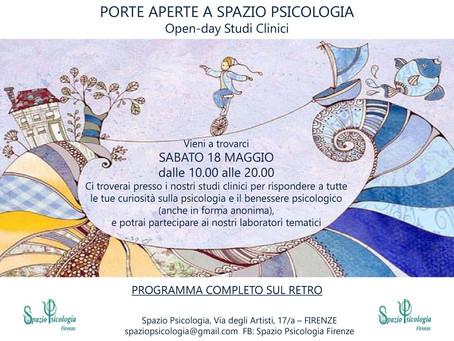 PORTE APERTE A SPAZIO PSICOLOGIA