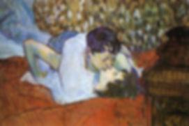 Il-bacio-The-Kiss-quadro-Toulouse-Lautre
