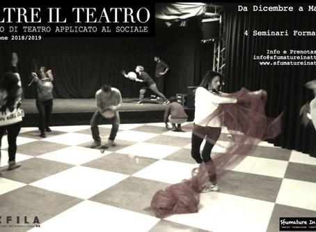 OLTRE IL TEATRO - Bioenergetica e arte teatrale nei luoghi del sociale