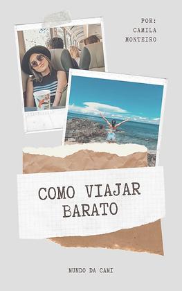 eBook: Como viajar barato?